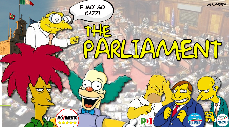 THE PARLIAMENT copia