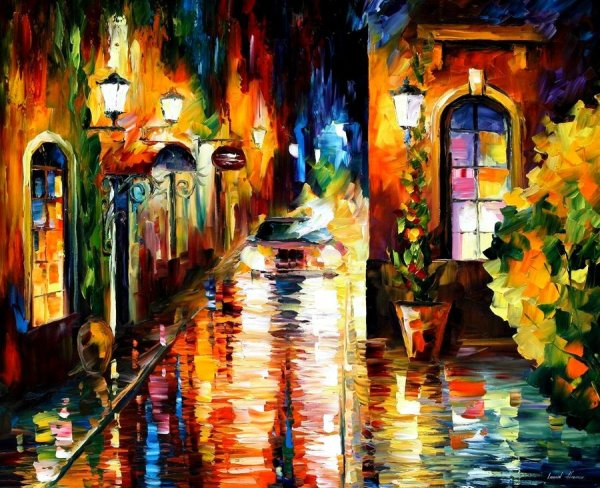 PAYING_A_VISIT_LEONID_AFREMOV_by_Leonidafremov