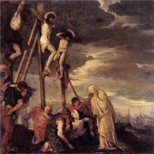 Calvary (after Veronese) 1858