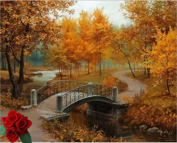 Thomas-Kinkade-landscape-oil-painting-Autumn-Forest-HD-art-print-fade-resistant-famous-reproduction-on-canvas.jpg_350x350