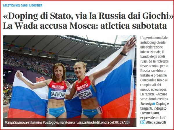 russia doping